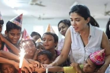 Is it right to celebrate our birthdays with the orphans?